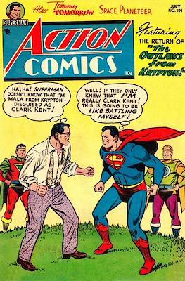 Action Comics Vol. 1 (1938-2011; 2016-) (Comic Book) #194