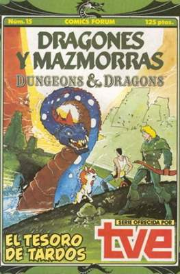 Dungeons and dragons. Dragones y mazmorras (Grapa 32 pp) #15