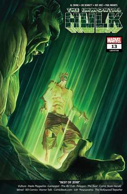 The Immortal Hulk (2018-) (Comic Book) #13