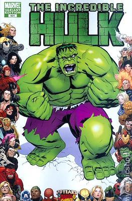 The Incredible Hulk / The Incredible Hulks (2009-2011 Variant Cover) #601.1