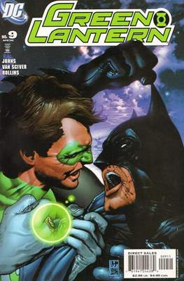 Green Lantern Vol. 4 (2005-2011) (Comic book) #9