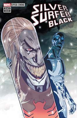 Silver Surfer: Black (Portadas Variantes) (Grapa) #5