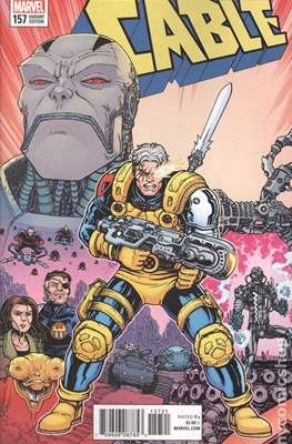 Cable (2017- Variant Covers) (Comic Book) #157