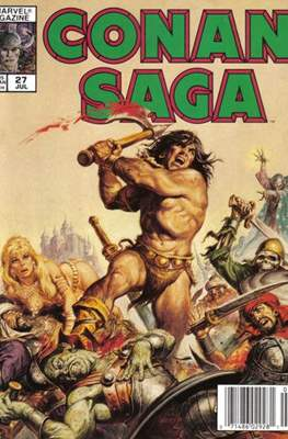 Conan Saga (Comic-book) #27