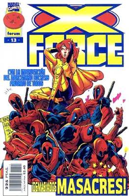 X-Force Vol. 2 (1996-2000) (Grapa 24 pp) #13