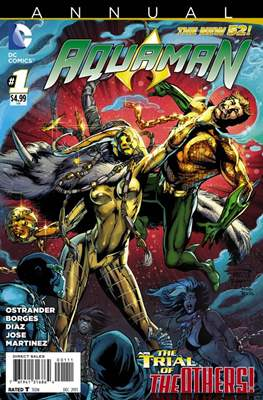 Aquaman Vol. 7 Annual (2011-2016) (Comic Book) #1