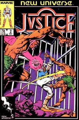 Justice. New Universe (1986) #2