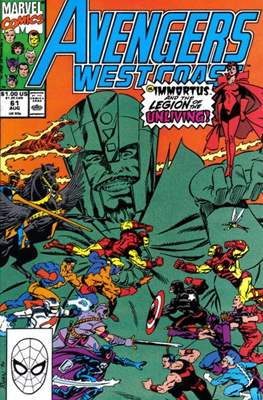 West Coast Avengers Vol. 2 (Comic-book. 1985 -1989) #61