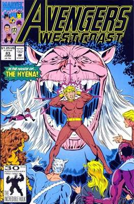 West Coast Avengers Vol. 2 (Comic-book. 1985 -1989) #83