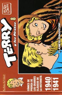 Terry y los Piratas. Biblioteca Grandes del Cómic #8