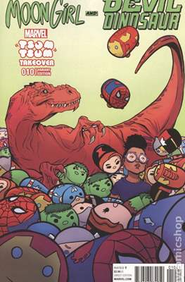 Moon Girl and Devil Dinosaur (Variant Covers) #10.1