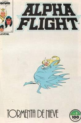 Alpha Flight Vol. 1 / Marvel Two-in-one: Alpha Flight & La Masa Vol.1 (1985-1992) #5