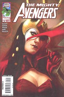 The Mighty Avengers Vol. 1 (2007-2010) (Comic-book) #29