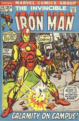 Iron Man Vol. 1 (1968-1996) #45