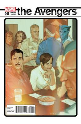 Avengers Vol. 5 (2013-2015 Variant Covers) (Comic Book) #41