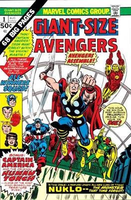 Giant-Size Avengers (1974-1975) (Comic Book) #1