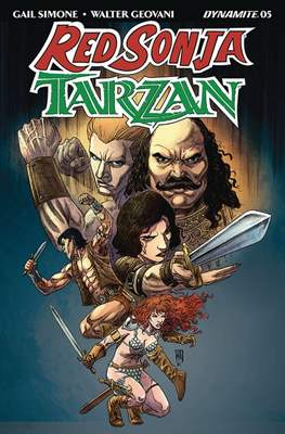 Red Sonja / Tarzan (2018) #5