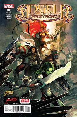 Angela: Asgard's Assassin Vol 1 (Comic book) #5