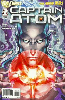 Captain Atom The New 52! (2011-2012) (Grapa) #1