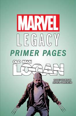 Old Man Logan: Marvel Legacy Primer Pages