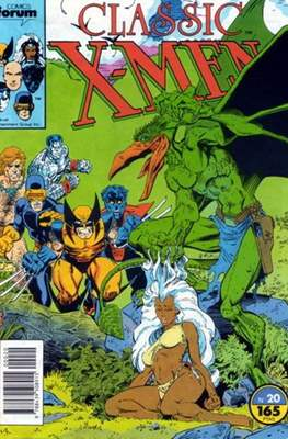 Classic X-Men Vol. 1 (1988-1992) (Grapa 32 pp) #20