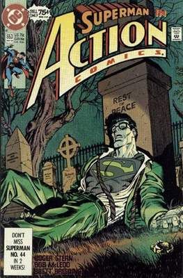 Action Comics Vol. 1 (1938-2011; 2016-) (Comic Book) #653