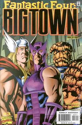 Fantastic Four Big town (Grapa) #3