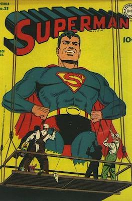 Superman Vol. 1 / Adventures of Superman Vol. 1 (1939-2011) (Comic Book) #21
