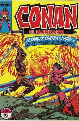 Conan el Bárbaro (1983-1994) (Grapa. 19x27. 36/32/24 páginas. Color.) #17