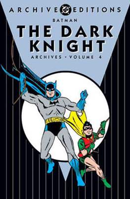 DC Archive Editions. Batman The Dark Knight (Hardcover with dust cover) #4