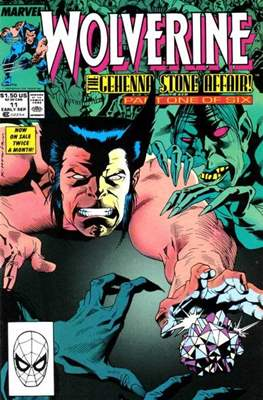 Wolverine (1988-2003) (Comic Book) #11