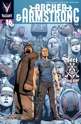 Archer & Armstrong (Comic Book) #16