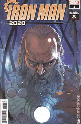 Iron Man 2020 (2020- Variant Cover) #1.7