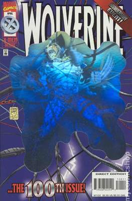 Wolverine (1988-2003 Variant Cover) (Comic Book) #100