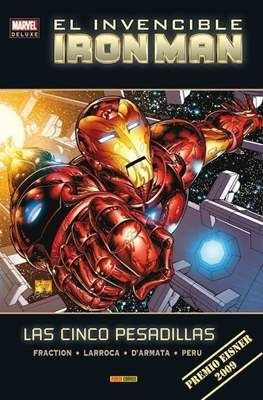 El Invencible Iron Man. Marvel Deluxe (Cartoné 208 pp) #1