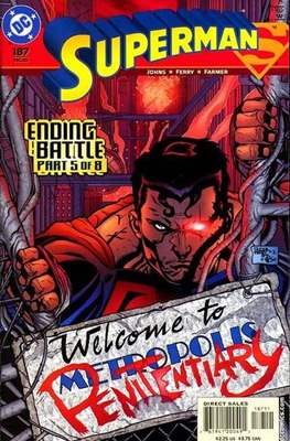 Superman Vol. 2 (1987-2006) (Comic Book) #187