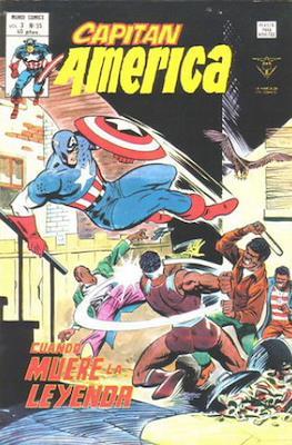 Capitán América Vol. 3 (1975-1980) (Grapa) #35
