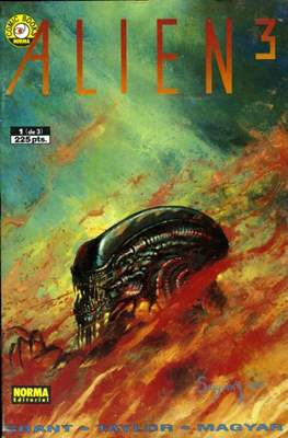 Alien 3 (Grapa 36 pp) #1