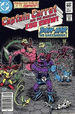 Captain Carrot and His Amazing Zoo Crew #7