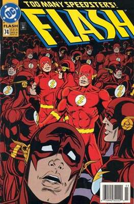 The Flash Vol. 2 (1987-2006) (Comic Book) #74