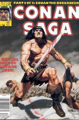 Conan Saga (Comic-book) #45