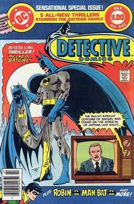 Detective Comics Vol. 1 (1937-2011; 2016-) (Comic Book) #492
