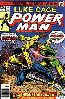 Hero for Hire/Power Man Vol.1 (1972-1978) (Grapa, 32 págs.) #36