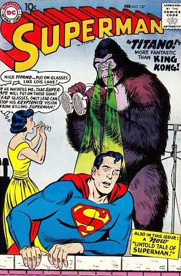 Superman Vol. 1 / Adventures of Superman Vol. 1 (1939-2011) (Comic Book) #127