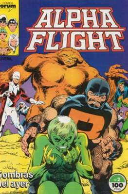 Alpha Flight Vol. 1 / Marvel Two-in-one: Alpha Flight & La Masa Vol.1 (1985-1992) #2