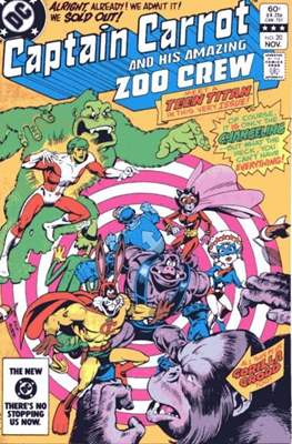 Captain Carrot and his amazing Zoo Crew (Comic Book) #20