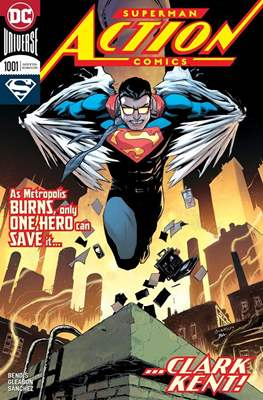 Action Comics Vol. 1 (1938-2011; 2016-) (Comic Book) #1001