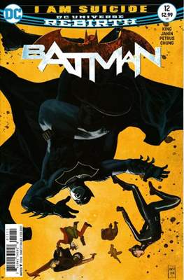 Batman Vol. 3 (2016-) (Comic Book) #12