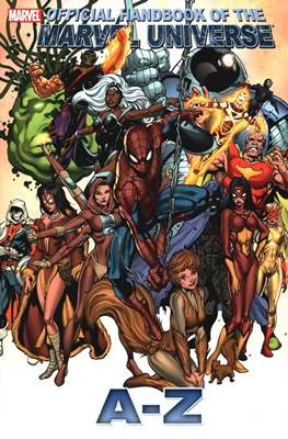 Official Handbook of the Marvel Universe A-Z #11