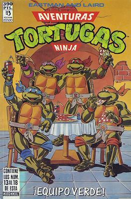 Aventuras Tortugas Ninja (Retapado, rústica) #3